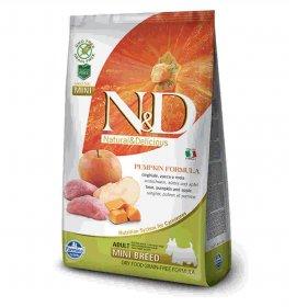 Farmina n&d delicious grain free cane adult mini con cinghiale zucca mela da 800 gr