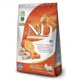 Farmina n&d delicious grain free cane adult mini con merluzzo zucca arancia da 800 gr