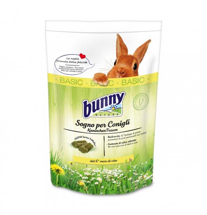 Bunny nature sogno per conigli basic da 1,5 kg