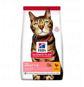Hill's science plan gatto adult light al pollo da 1,5 kg