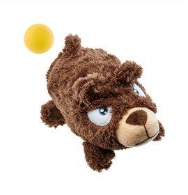 Hunter cane gioco orso con pallina 22 cm