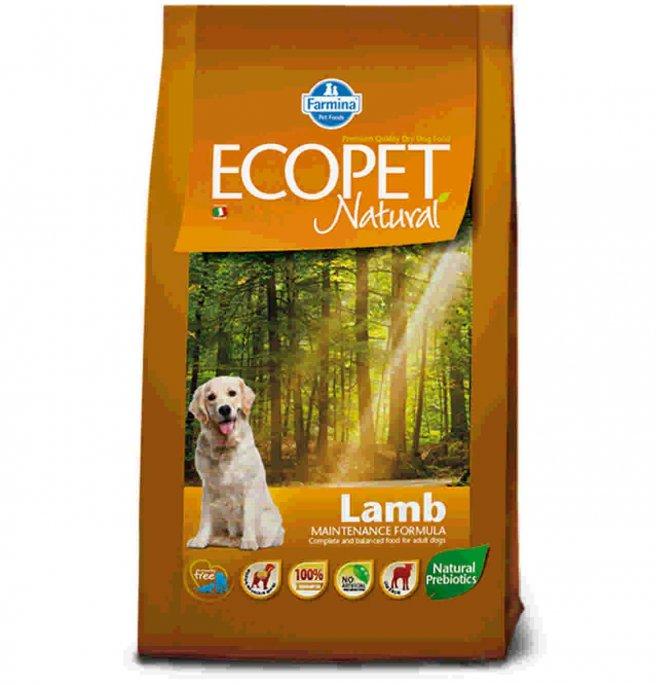 Farmina ecopet natural adult medium all' agnello da 12 kg