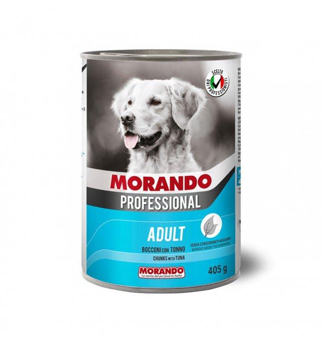 Morando miglior cane professional bocconi con tonno da 405 gr in lattina