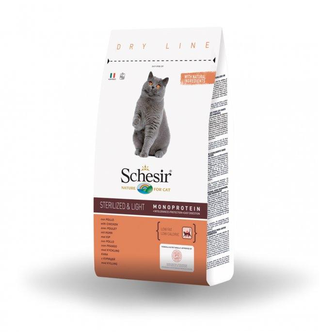 Agras schesir gatto adult sterilized con pollo da 400 gr