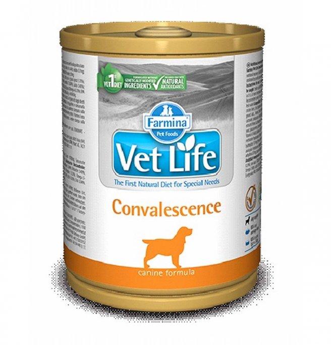Farmina vet life cane convalescence da 300 gr in lattina