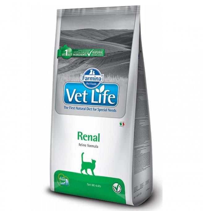 Farmina vet life gatto renal da 2 kg