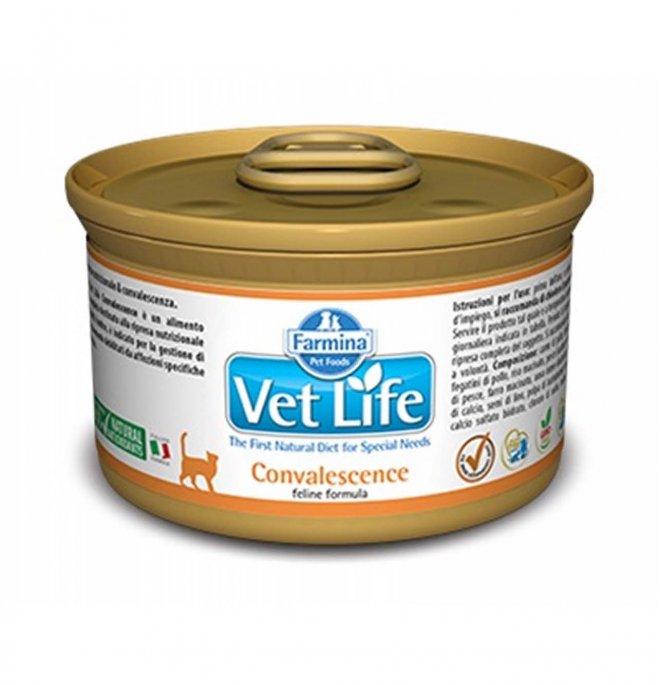 Farmina vet life gatto convalescence da 85 gr in lattina