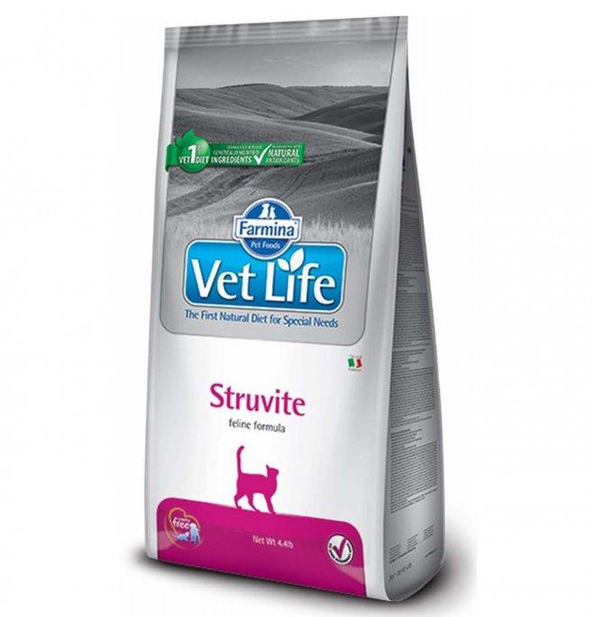 Farmina vet life gatto struvite da 2 kg