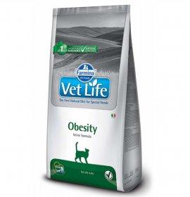 Farmina vet life gatto obesity da 2 kg