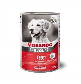 Morando miglior cane professional bocconi con manzo da 405 gr in lattina