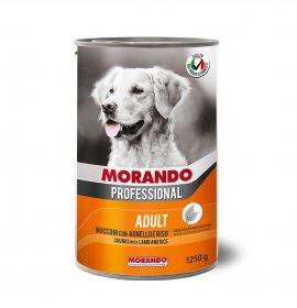 Morando miglior cane professional bocconi con agnello e riso da 1250 gr in lattina