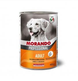 Morando miglior cane professional bocconi con agnello e riso da 405 gr in lattina