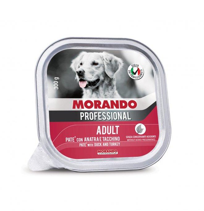 Morando miglior cane professional anatra e tacchino da 300 gr in vaschetta