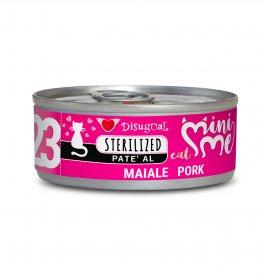 Disugual gatto pate' sterilised al maiale da 85 gr in lattina