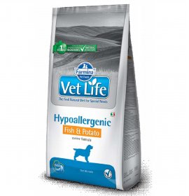 Farmina vet life cane hypoallergenic pesce & patate da 12 kg
