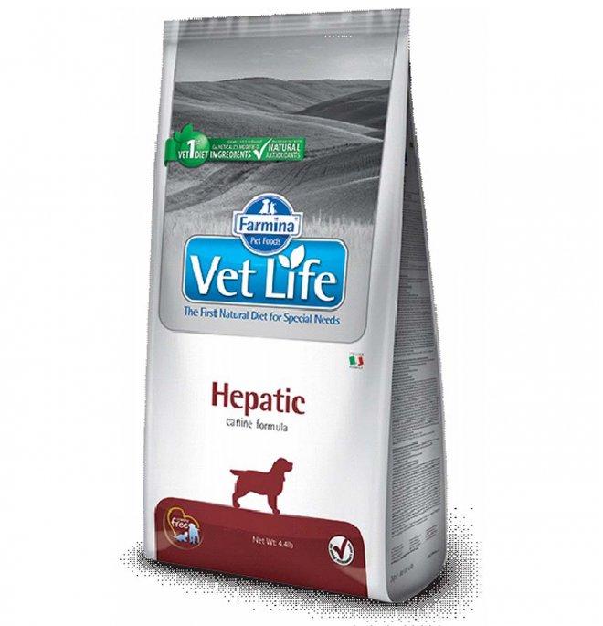 Farmina vet life cane hepatic da 2 kg