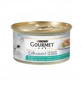 Purina gourmet diamant gatto al tonno da 85 gr in lattina