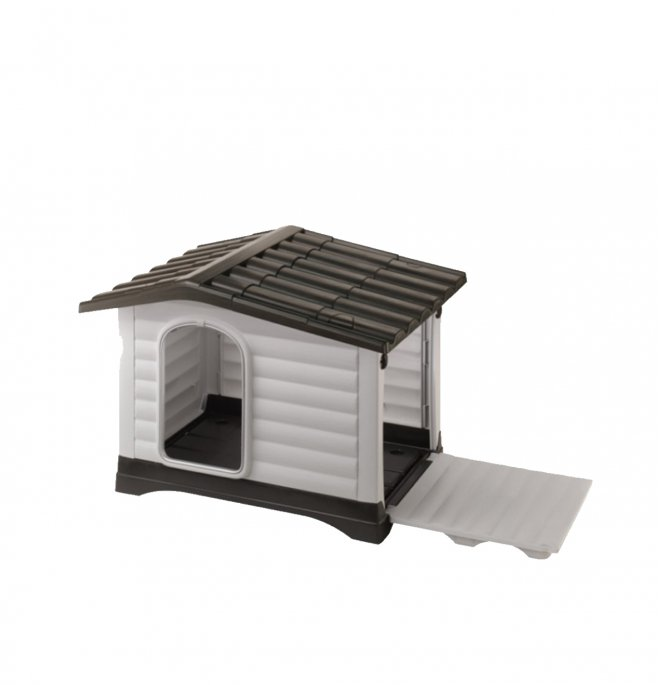 Ferplast cane cuccia dogvilla 90 in plastica 88 x 72 x 65 cm