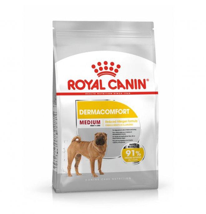 Royal canin cane adult medium dermaconfort da 3 kg