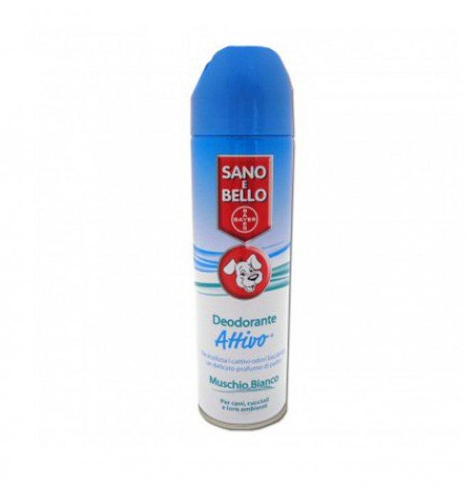 Bayer cane deodorante attivo deo muschio bianco da 250 ml
