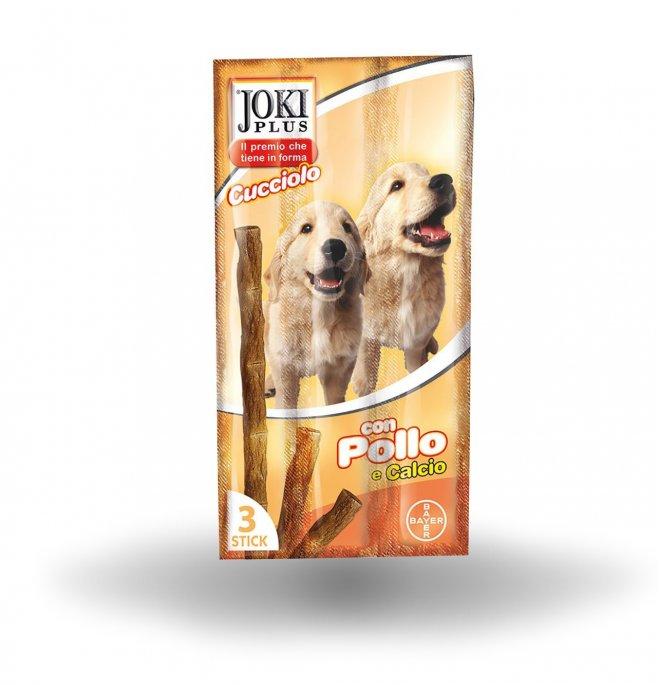 Bayer cane snack joki plus cucciolo al pollo da 5 x 3 gr