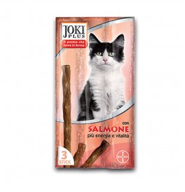 Bayer gatto snack joki plus al salmone da 3 x 5 gr