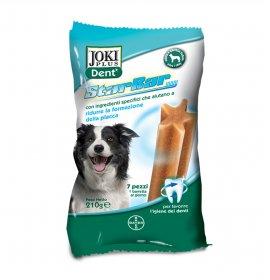 Bayer cane snack joki plus dent starbar taglia media grande da 210 gr
