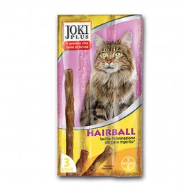 Bayer gatto snack joki plus hairball da 3 x 5 gr