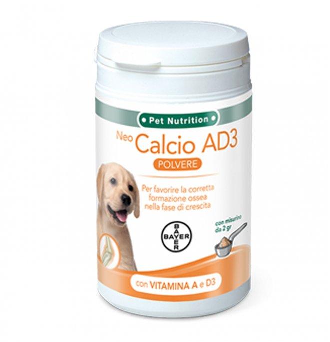Bayer cane neo calcio ad3 solubile sviluppo 200 gr