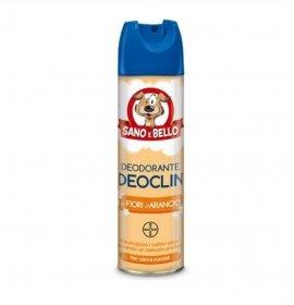 Bayer cane deodorante assorbiodori deoclin fiori d'arancio da 250 ml