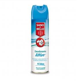 Bayer cane deodorante attivo talco da 250 ml