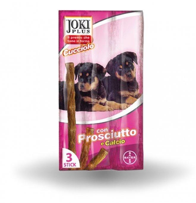 Bayer cane snack joki plus cucciolo al prosciutto da 5 x 3 gr