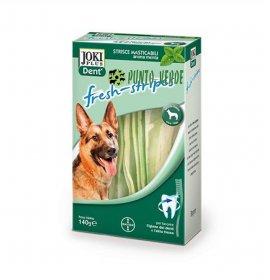 Bayer cane snack joki plus dent fresh stripes taglia grande da 140 gr