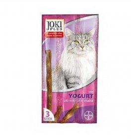 Bayer gatto snack joki plus allo yogurt da 3 x 5 gr