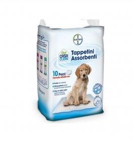Bayer cane tappetini assorbenti 60 x 60 cm da 10 pezzi