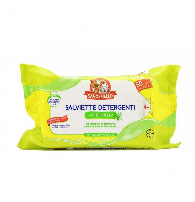 Bayer cane e gatto salviette citronella da 50 pz