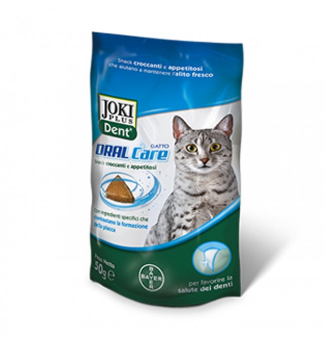 Bayer gatto snack joki plus dent oral care da 50 gr