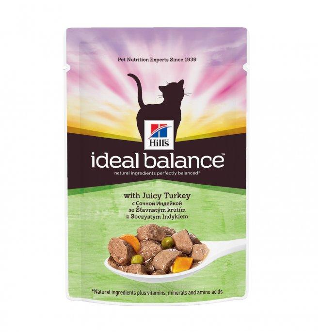 Hill's science plan gatto ideal balance adult al tacchino da 85 gr in busta