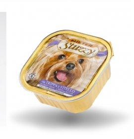 Agras mister stuzzy cane con trippa e vitello da 300 gr in vaschetta
