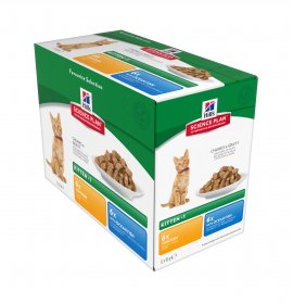 Hill's science plan gatto kitten multipack 12 buste da 85 gr