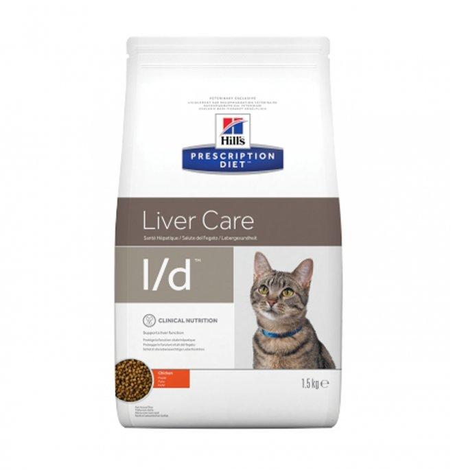 Hill's prescription diet gatto l/d da 1,5 kg