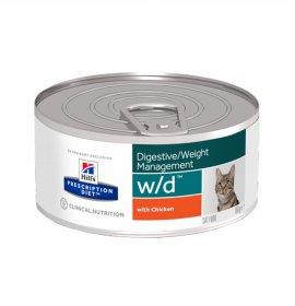 Hill's prescription diet gatto w/d da 156 gr in lattina