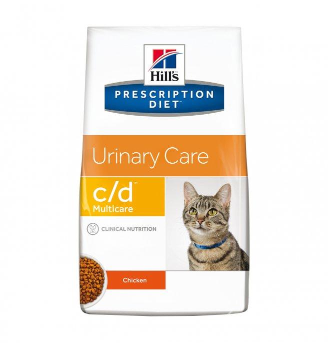 Hill's prescription diet gatto c/d al pollo da 5 kg