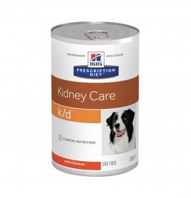 Hill's prescription diet cane k/d da 370 gr in lattina