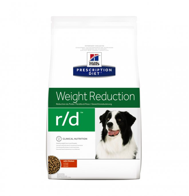 Hill's prescription diet cane r/d da 1,5 kg