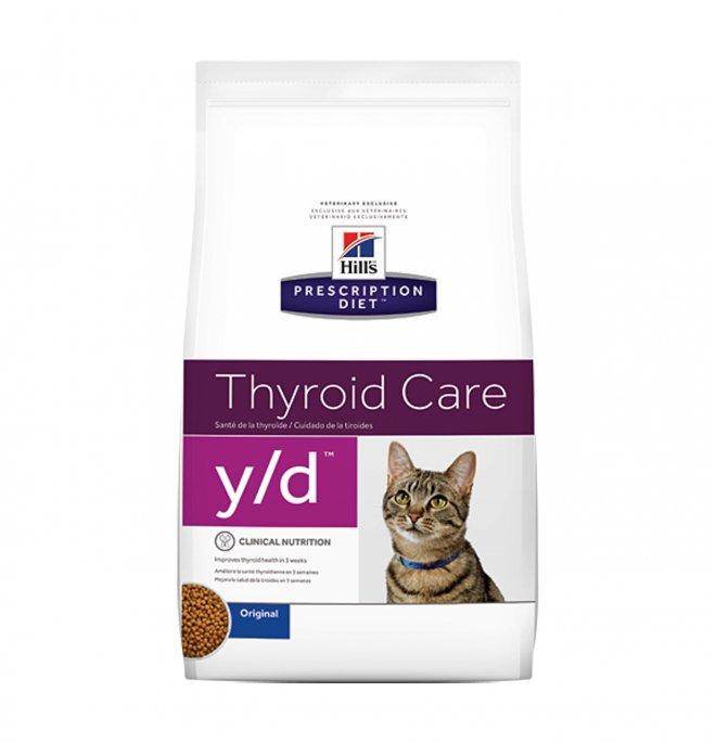 Hill's prescription diet gatto y/d da 1,5 kg