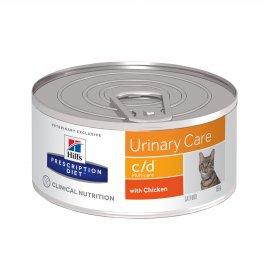 Hill's prescription diet gatto c/d da 156 gr in lattina