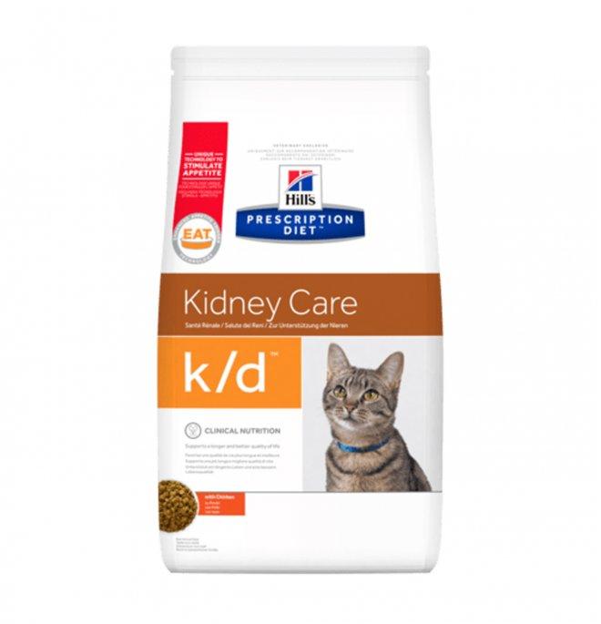 Hill's prescription diet gatto k/d da 400 gr