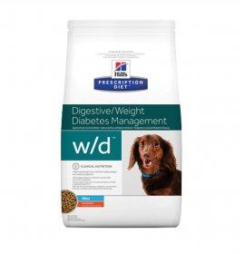 Hill's prescription diet cane w/d mini da 1,5 kg