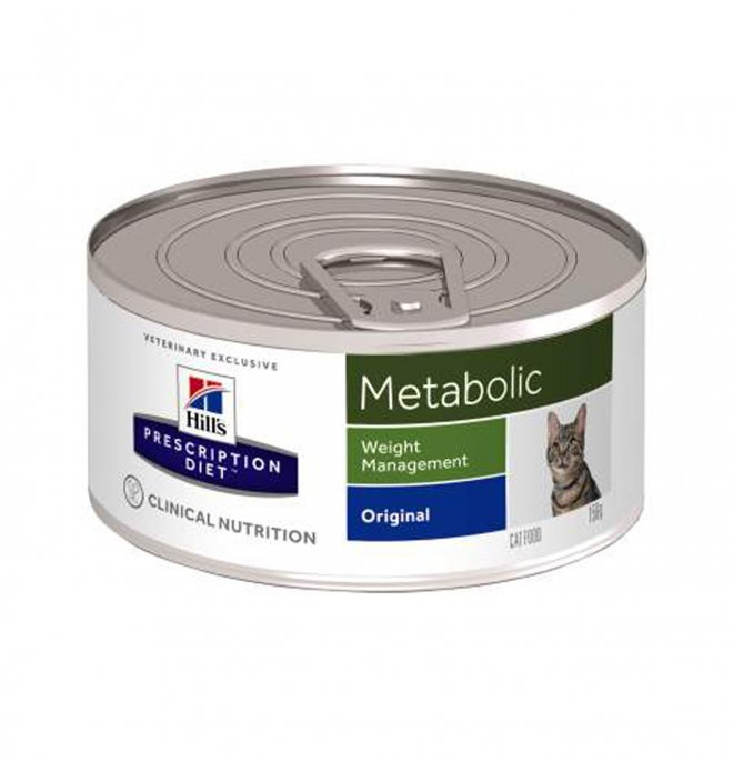 Hill's prescription diet gatto metabolic da 156 gr in lattina